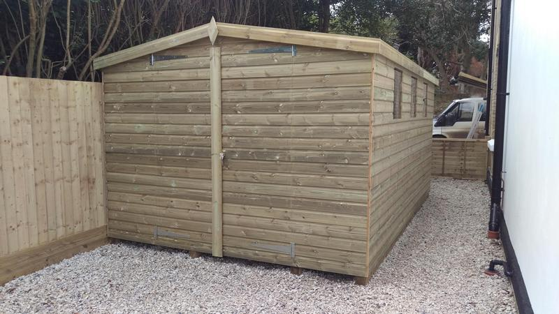 Image 103 - New custom built shed