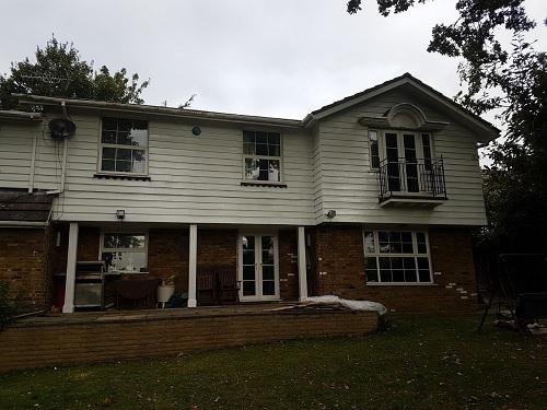 Image 16 - Full house preparation work scraped down and sanded down and then painted with 3 coats of Dulux Weathershield