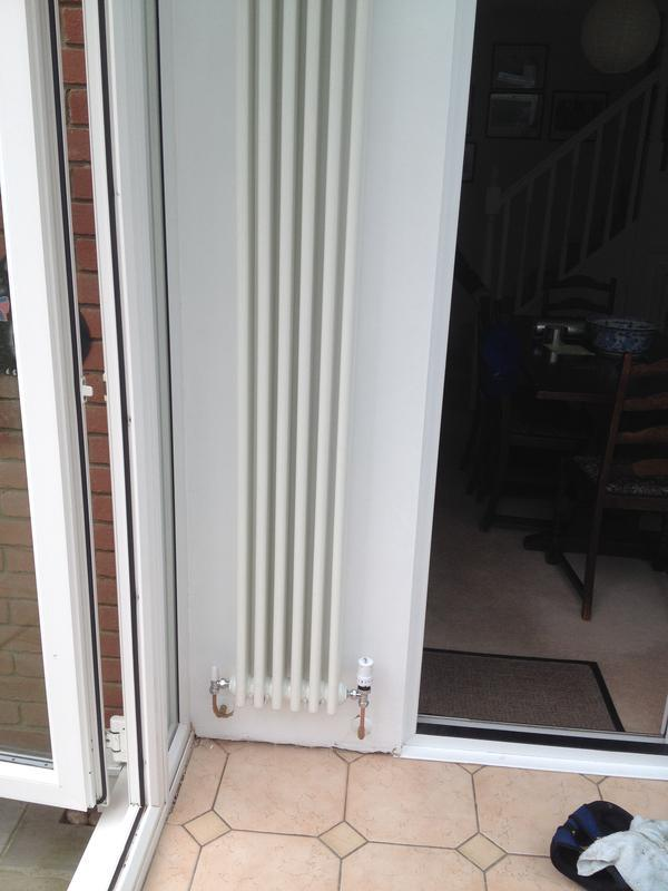 Image 45 - Designer radiator install
