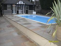 Image 14 - Large garden design & Large Pool - We can cope with large & small designs