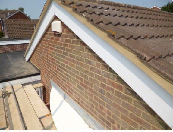 Image 11 - re-pointing and re-bedding new Gable which run between roof and fascia or brickwork