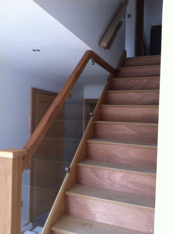 Image 11 - Bespoke glass balustrade with S/S clamps
