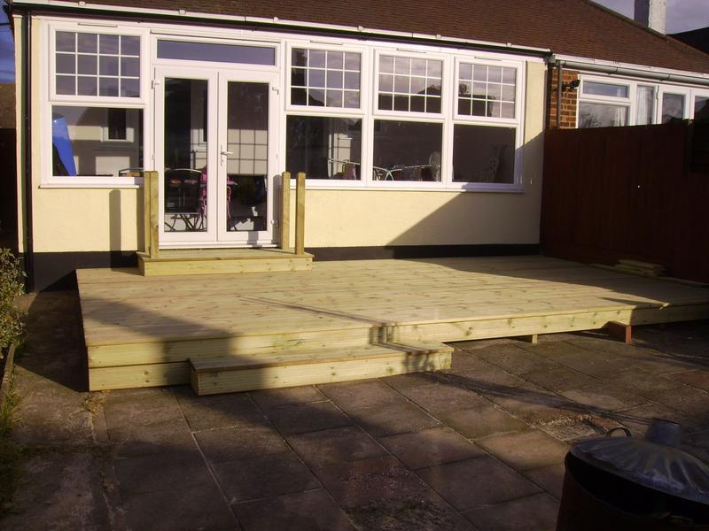 Image 13 - decking with steps