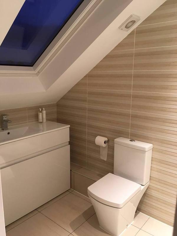 Image 31 - New loft conversion en-suite with Velux window