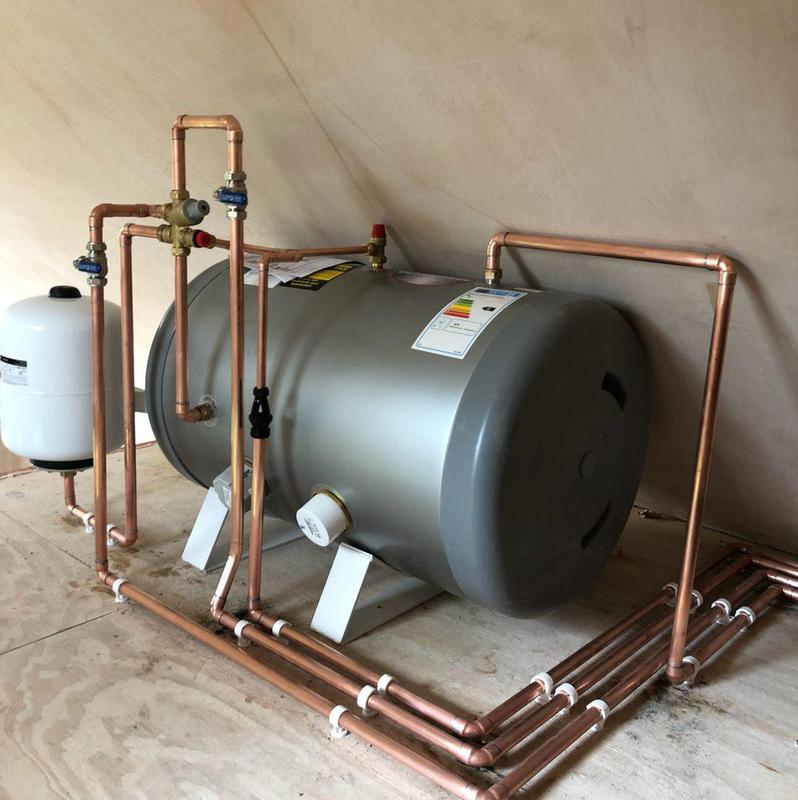 Image 2 - Pressurised Hot Water Cylinder Installation