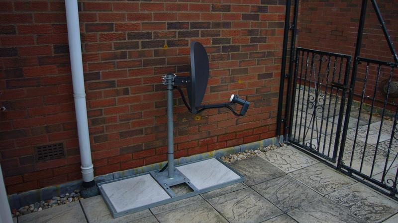 Image 12 - Patio mount installation