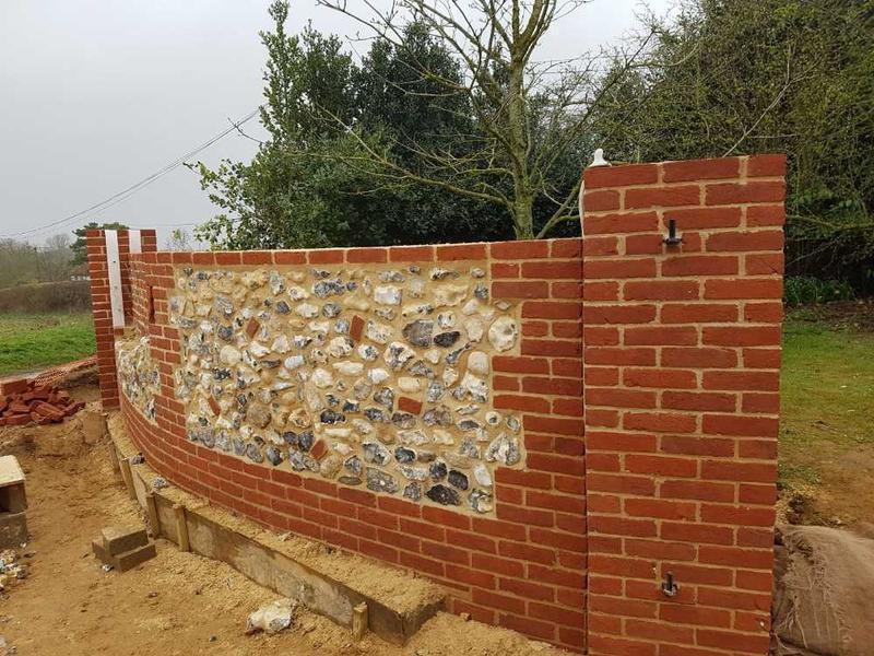Image 30 - flint walls renovation in bircham by s1 builders norfolk