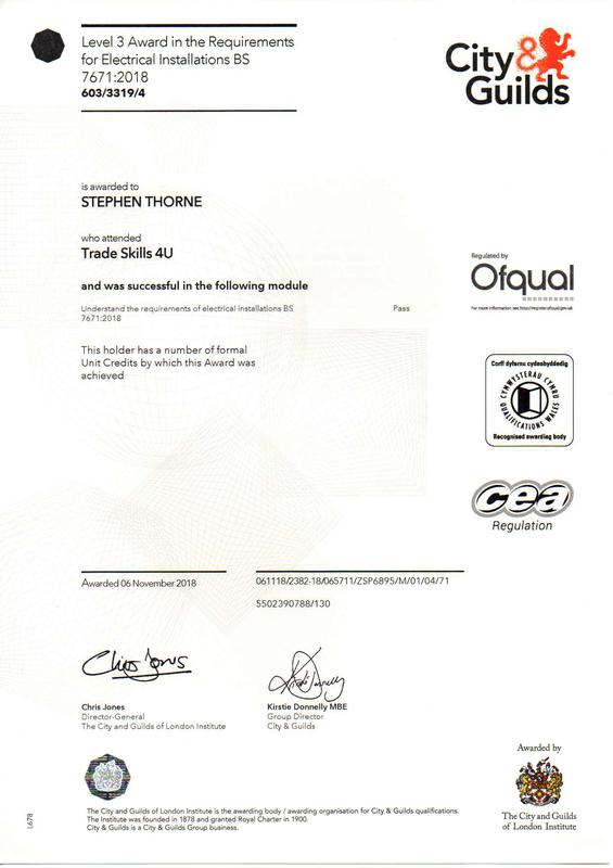 Image 5 - 18th edition certificate.