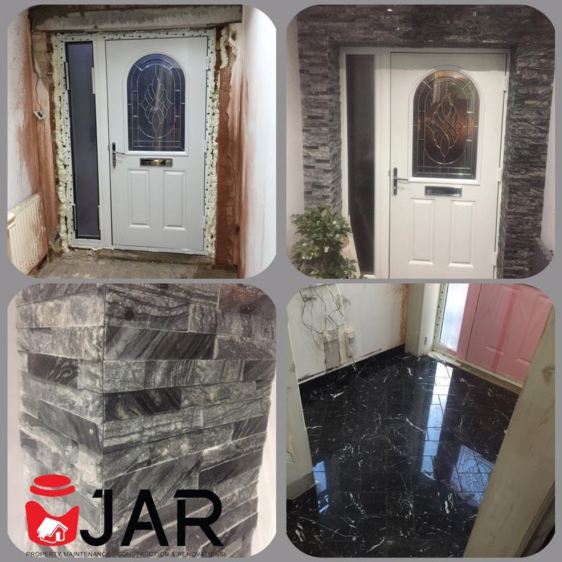 Image 19 - Interior Feature Wall / Marble Floor