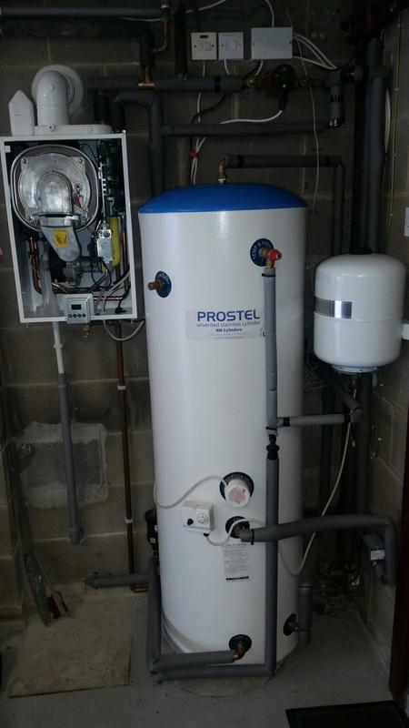 Image 4 - unvented install in a cellar