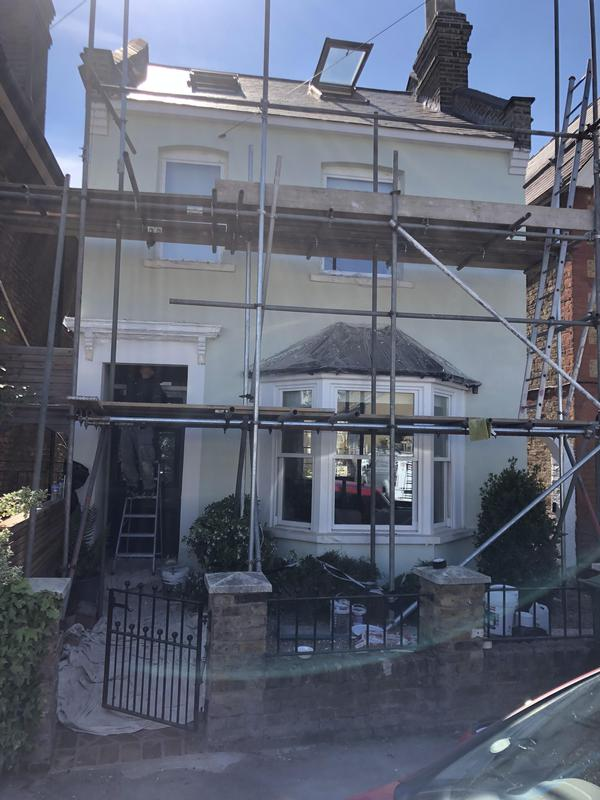 Image 1 - Silicone Render and new gutters