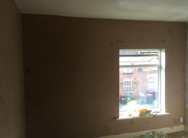 Image 59 - Whole house skimmed and floor replaced