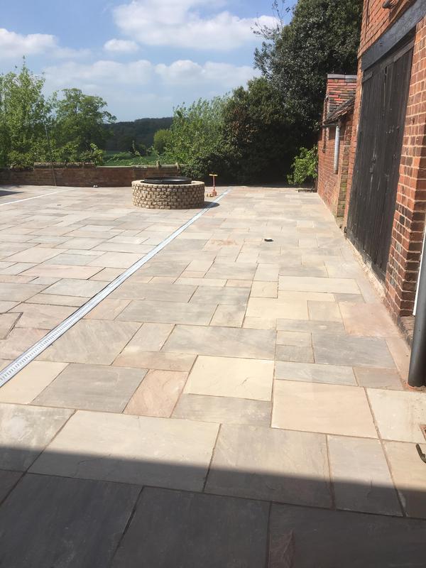 Image 204 - Raj blend natural sandstone courtyard