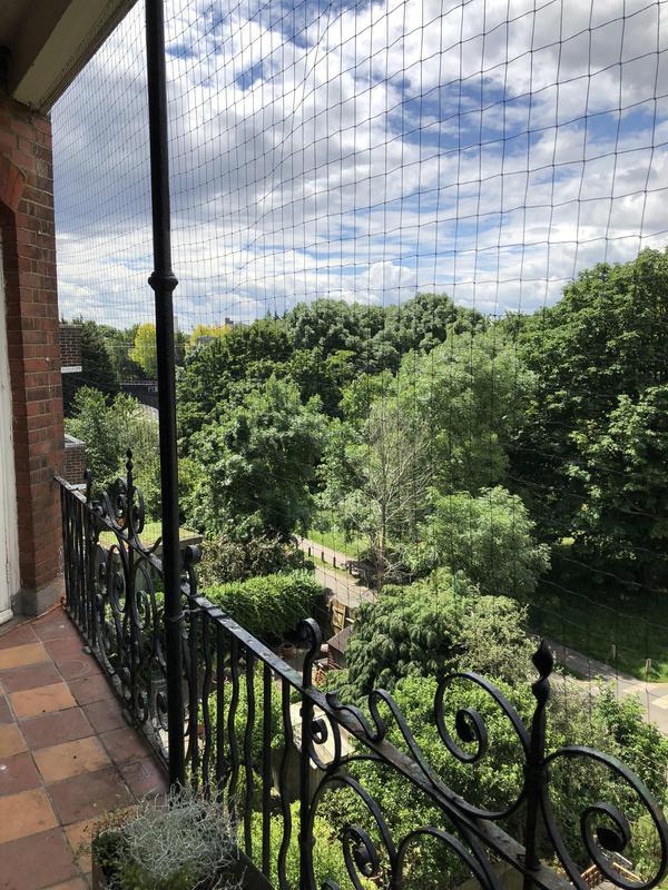 Image 8 - Balcony netting in Hampstead Heath