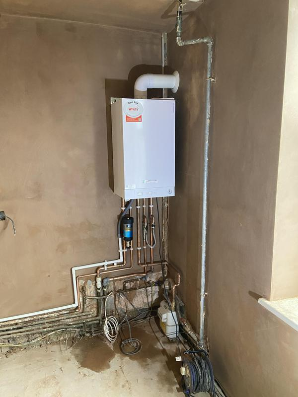 Image 6 - New Viessmann 29 kw combination boiler installation in surbiton 7 years warranty