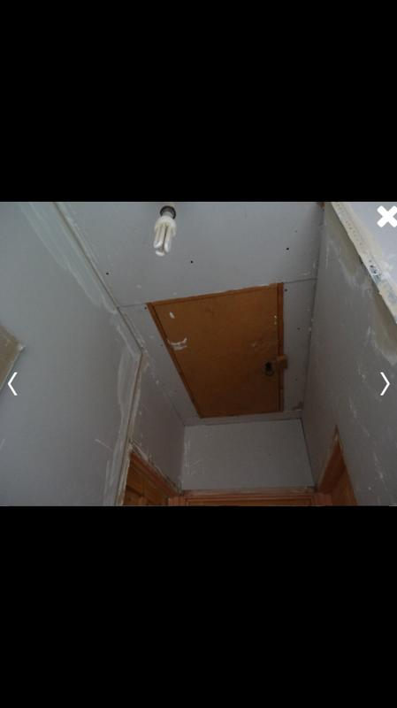 Image 84 - Hall, stairs and landing stripped back to brick reboarded and skimmed