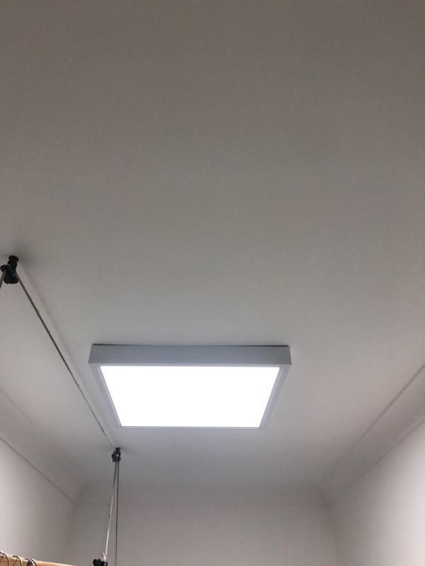 Image 3 - LED lighting panals installed in an office area.