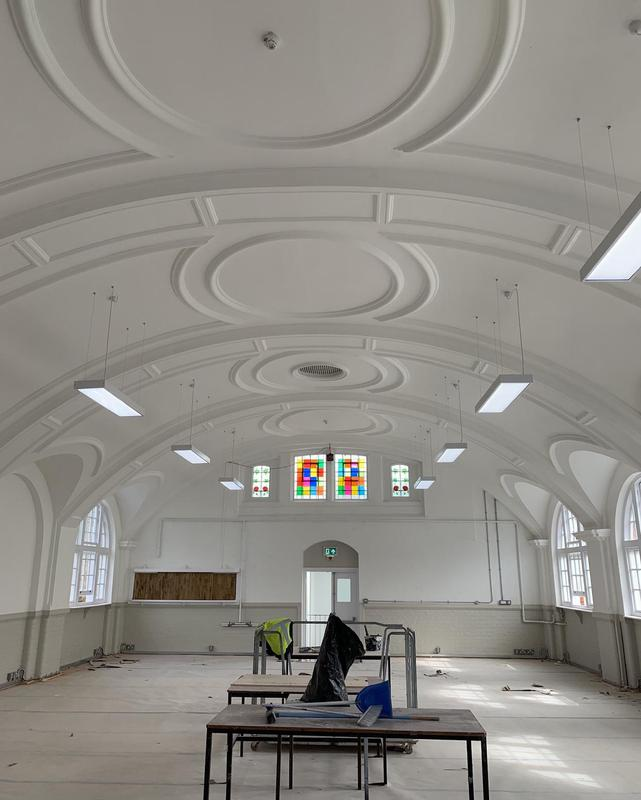 Image 3 - New lighting design and installation london church