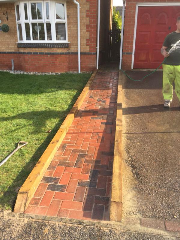 Image 19 - block paving pathway