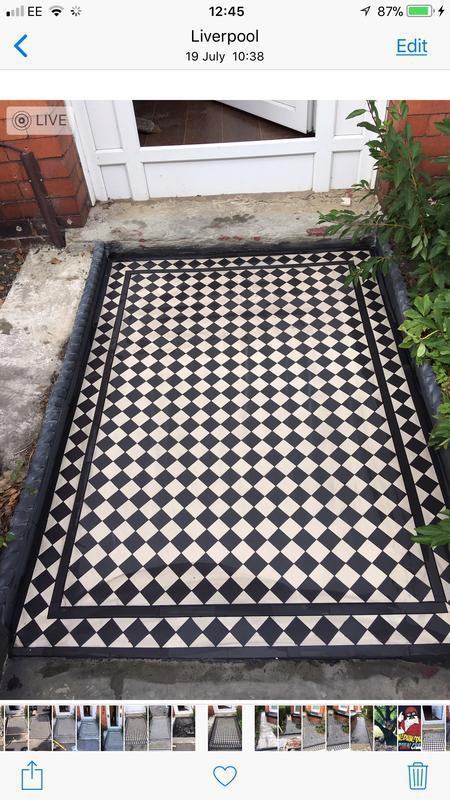 Image 14 - Greenbank Rd, Victorian Mosaic tiles