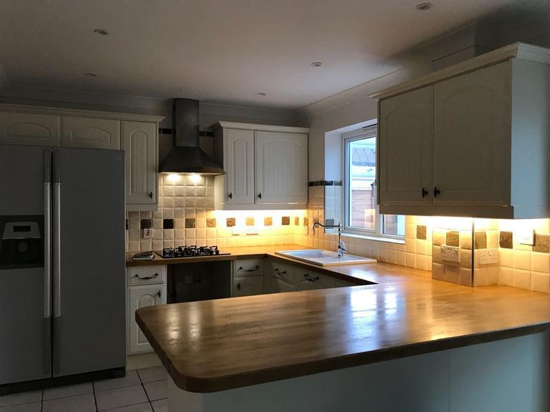 Image 99 - led under counter lighting installed in stevenag, hertfordshire