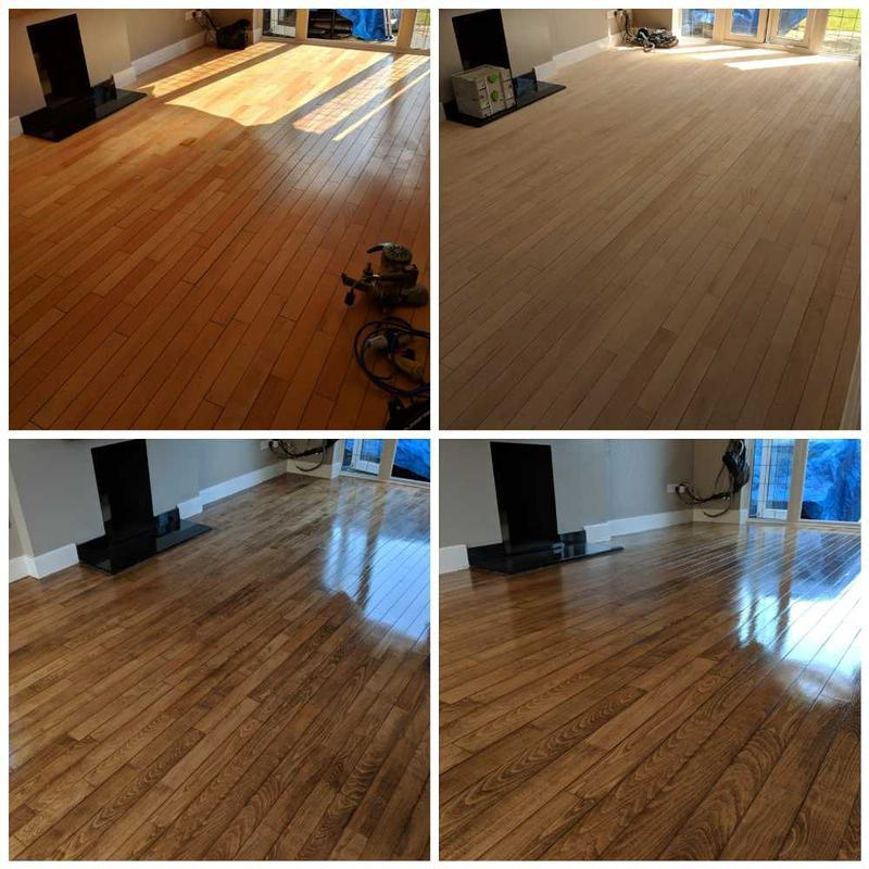 Image 35 - maple floor sanding