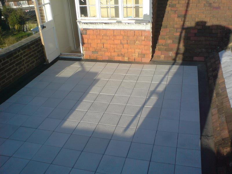 Image 2 - Roof Terrace finished with promenade tiles