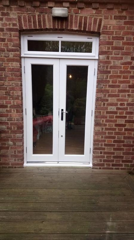 Image 9 - bespoke hardwood french doors finished in white high performance paint