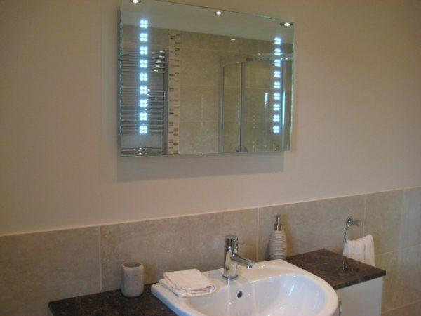 Image 22 - Mirror with LED lighting