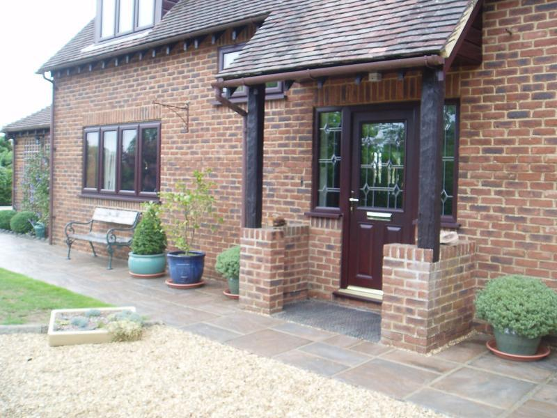 Image 43 - New brown wood grain UPVC windows and doors