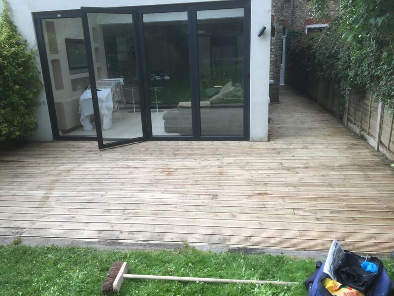 Image 95 - Decking repairs & treatment