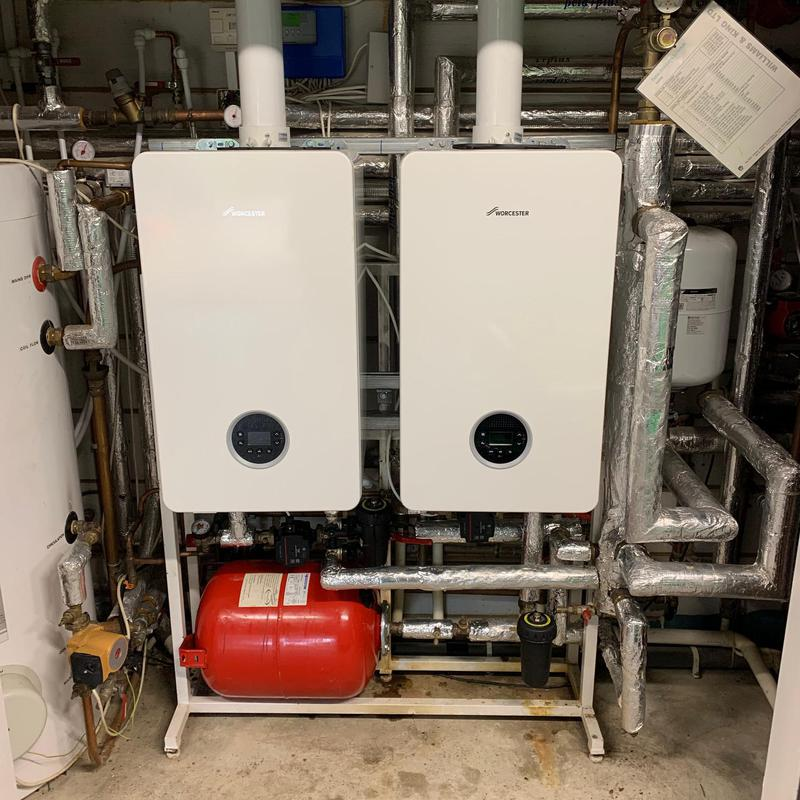 Image 15 - 2 x Worcester Bosch Life 8000 50Kw Boilers