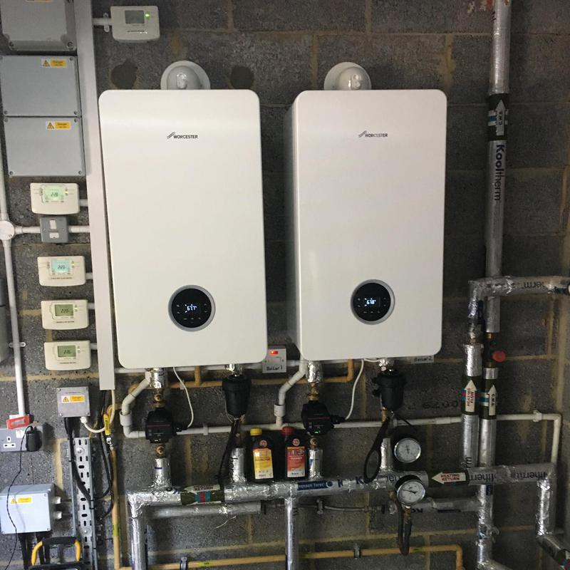 Image 16 - 2 x Worcester Bosch Life 8000 50Kw boilers