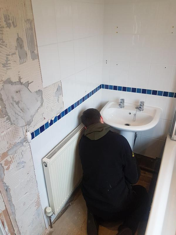 Image 2 - Stripping out bathroom