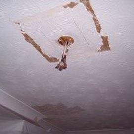 Image 12 - Damaged ceiling