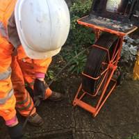 Image 91 - CCTV Survey to asses the drains