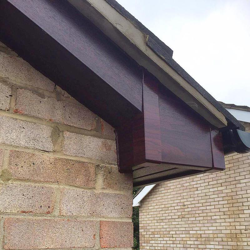 Image 56 - New Rosewood UPVC Fascias, Soffits, Guttering and Downpipes fitted