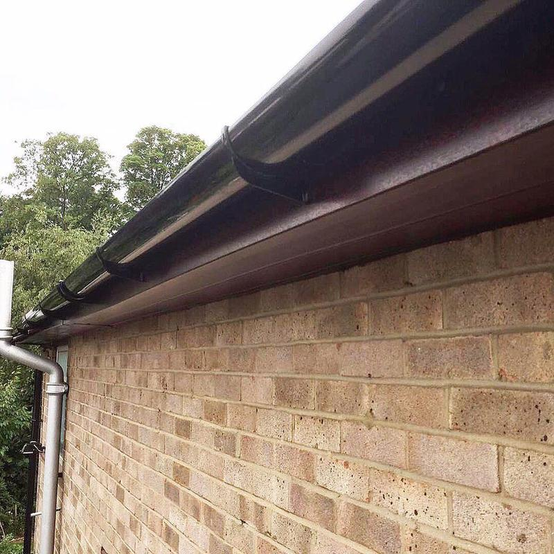 Image 55 - New Rosewood UPVC Fascias, Soffits,Guttering and Downpipes fitted