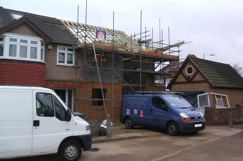 Image 1 - double side extension and loft conversion