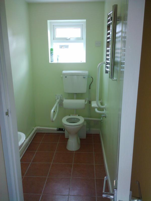 Image 11 - disabled toilet in old coal shed