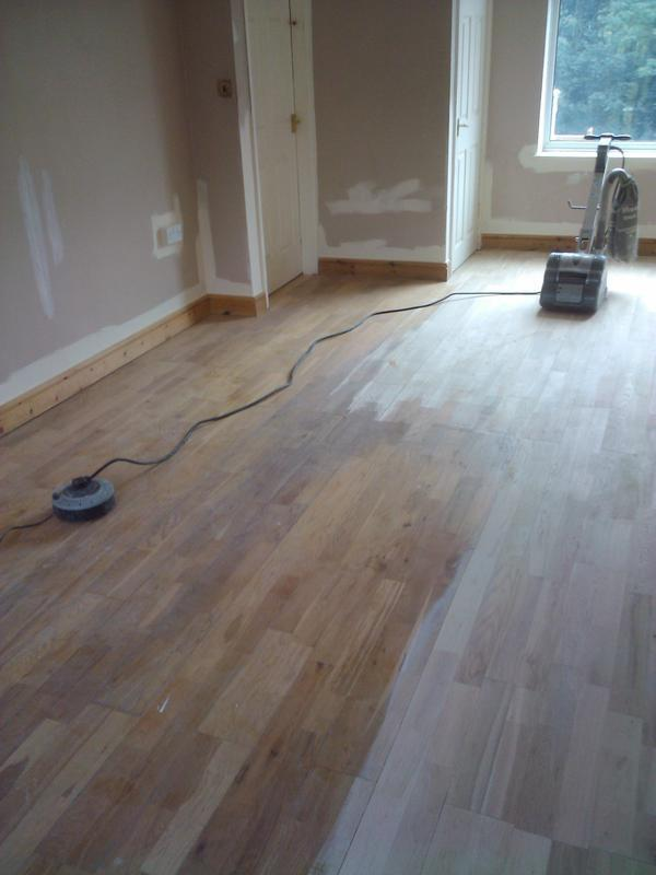 Image 9 - floor sanding BEFORE