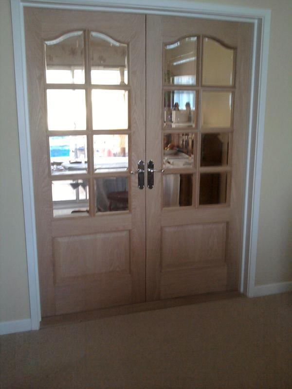 Image 8 - Oak internal doors