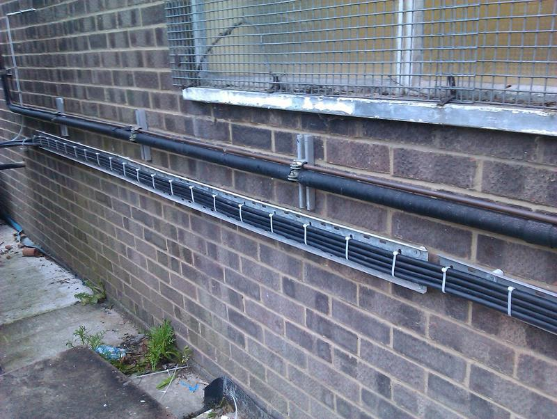 Image 9 - Shoebury Confectionery Armoured Cable Installation For Air Con Units