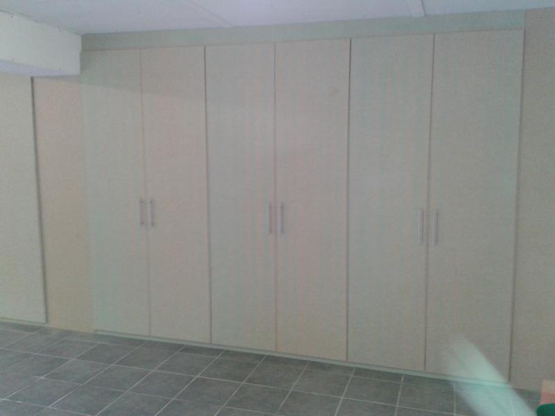 Image 85 - Raw M D F garage storage