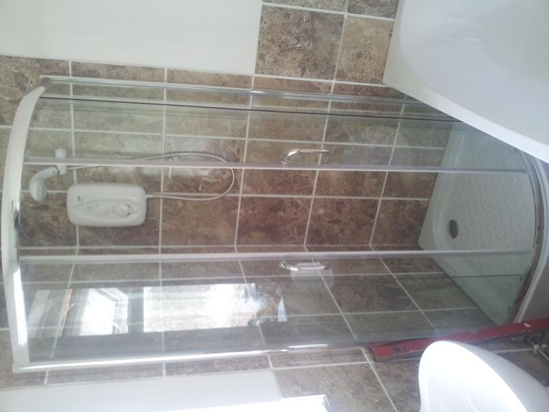 Image 12 - shower enclosure installation