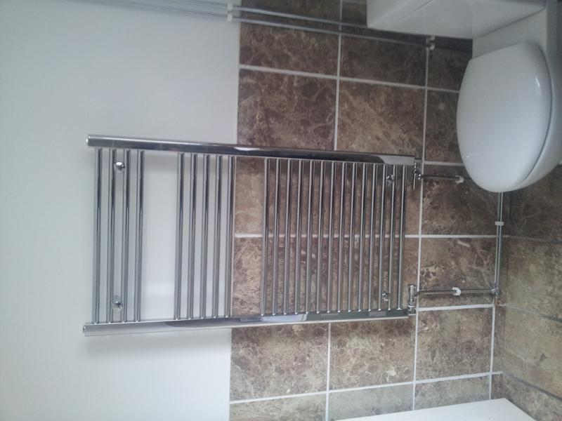 Image 9 - new towel rail fitted