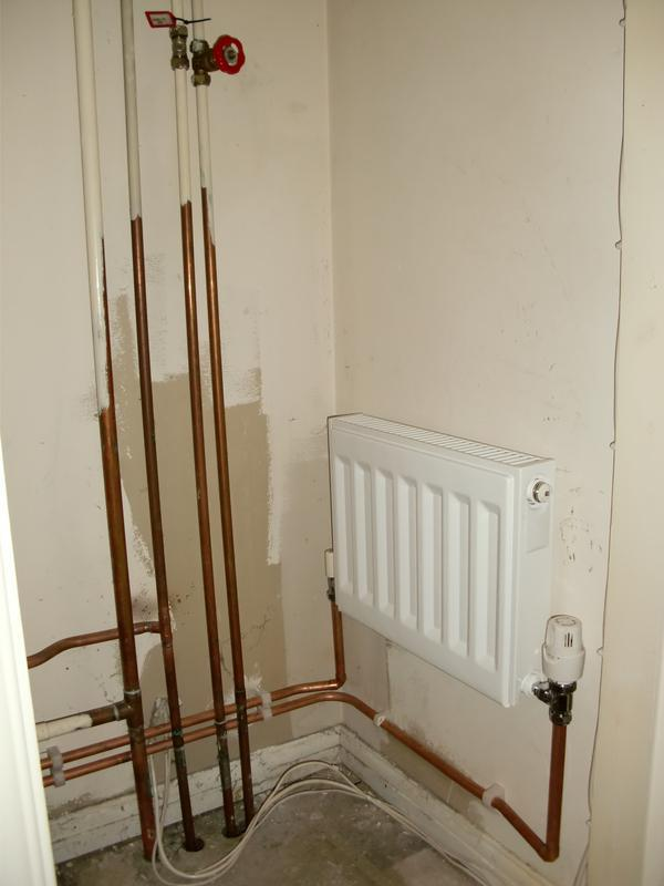 Image 19 - Customer wanted a radiator in the airing cupboard