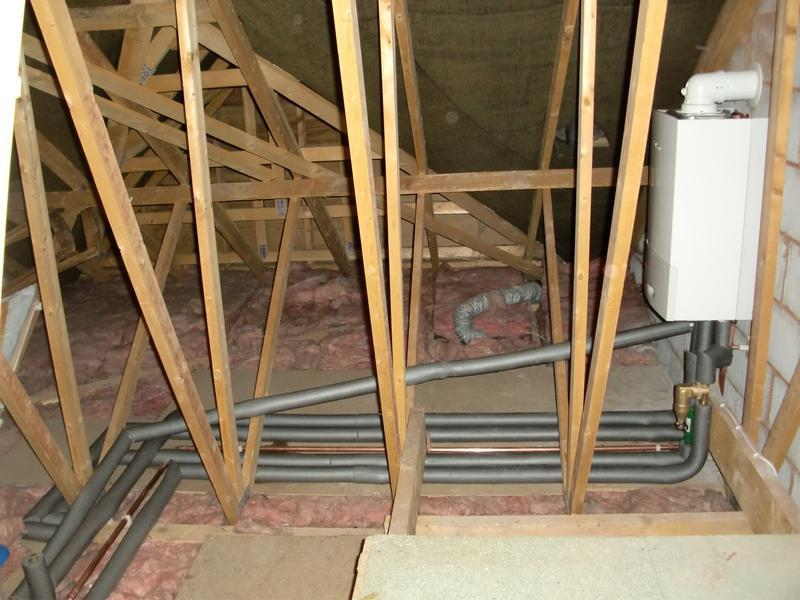 Image 17 - Boiler Installation in a Loft