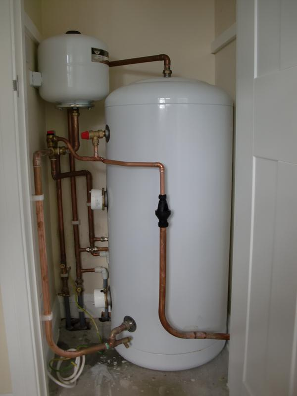 Image 9 - Unvented cylinder