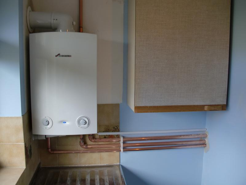 Image 13 - Boiler installed in garage, Built in frost protection